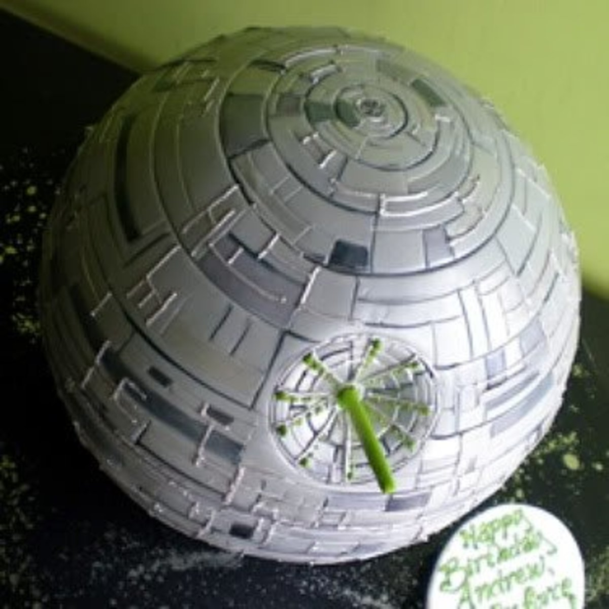 Unique Death Star cake