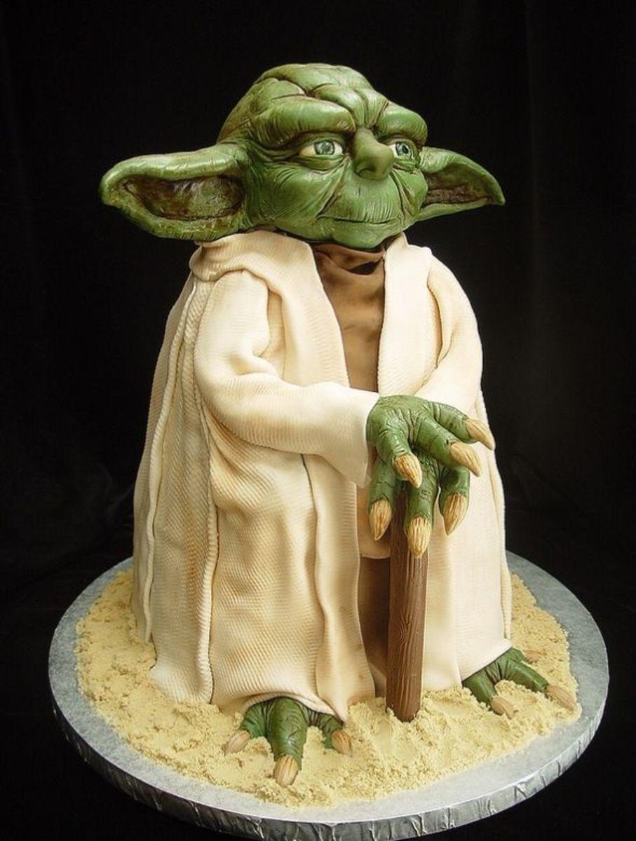 Yoda by Artisan Cake Company