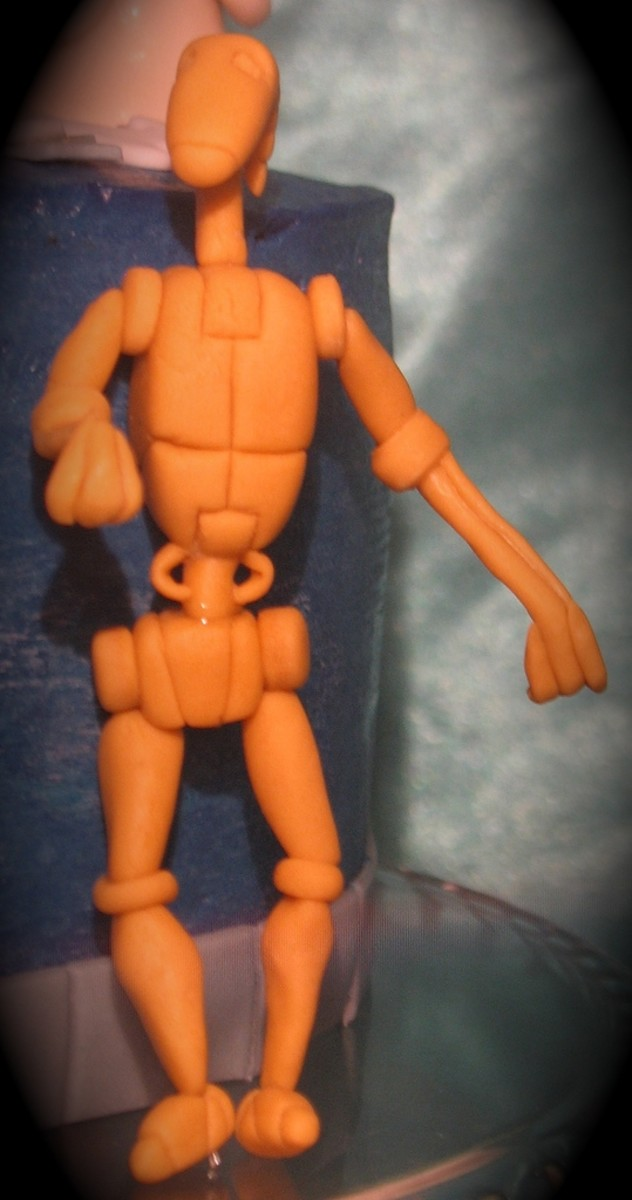Battle Droid Cake Topper Figure