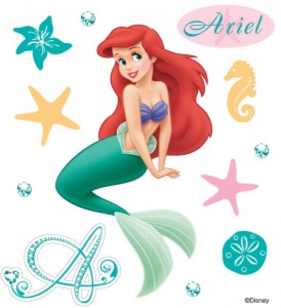 Little Mermaid Scrapbook