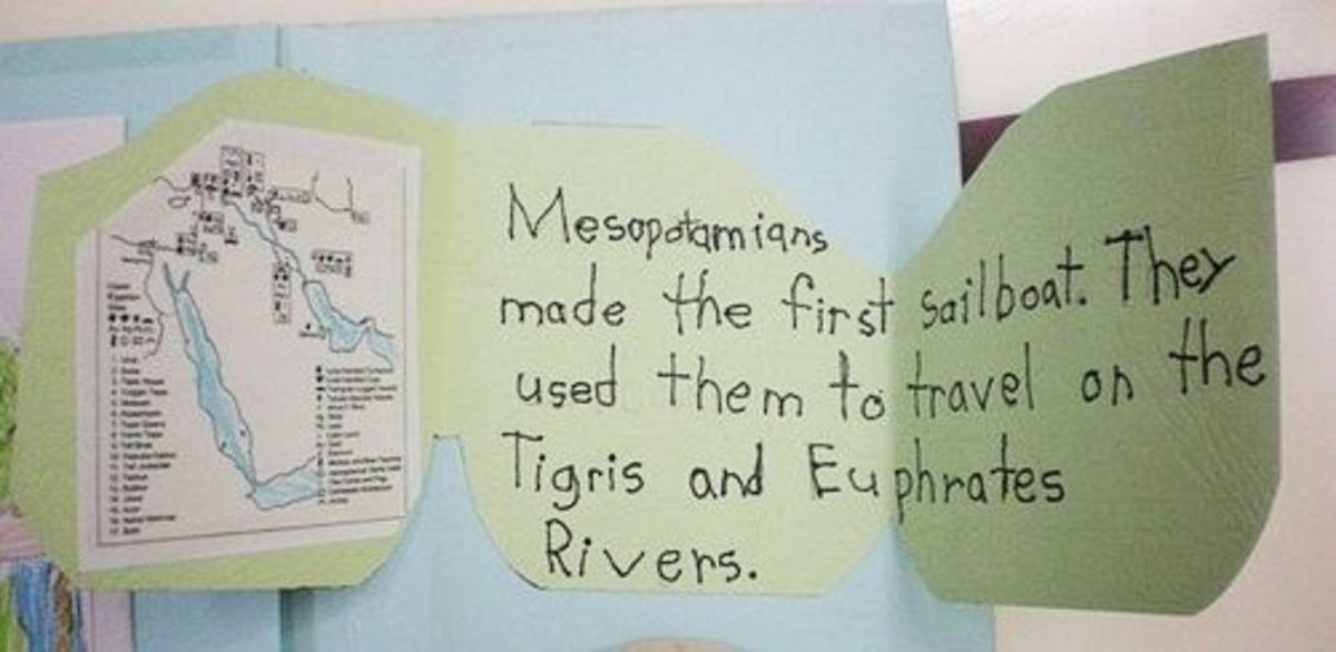 Mesopotamia trifold
