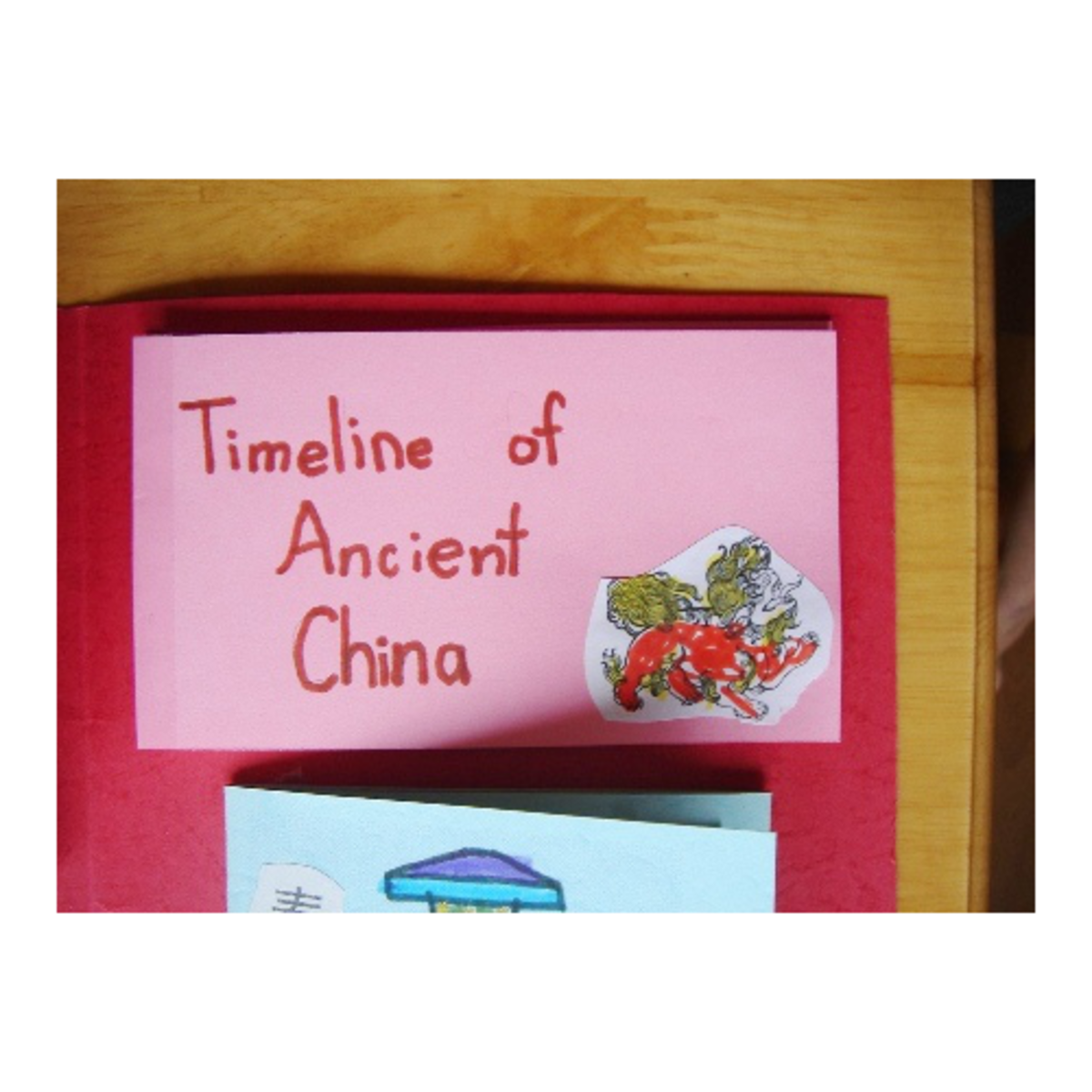 accordion timeline for ancient China