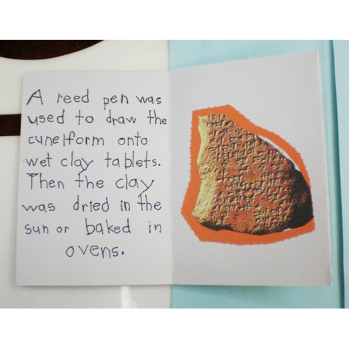 inside the one page book about cuneiform