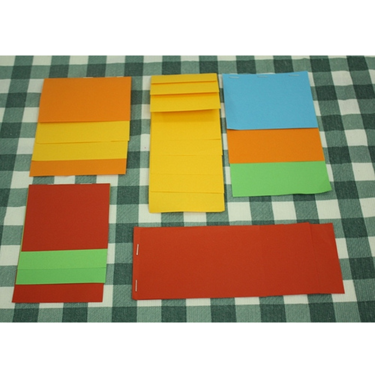 blank layered books