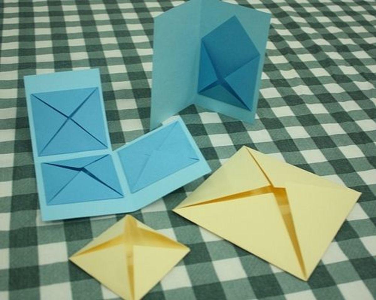 four corner minibook variations