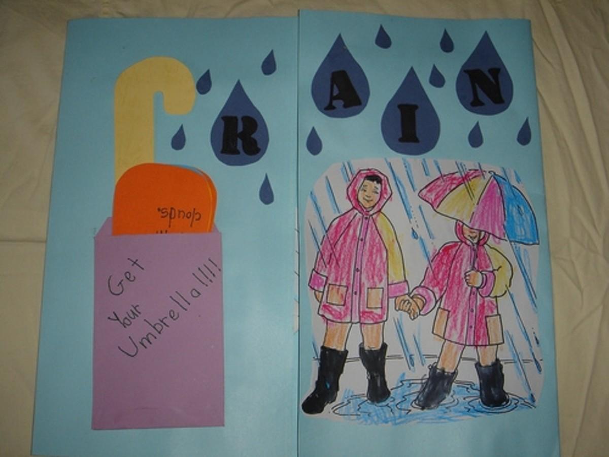 rain lapbook