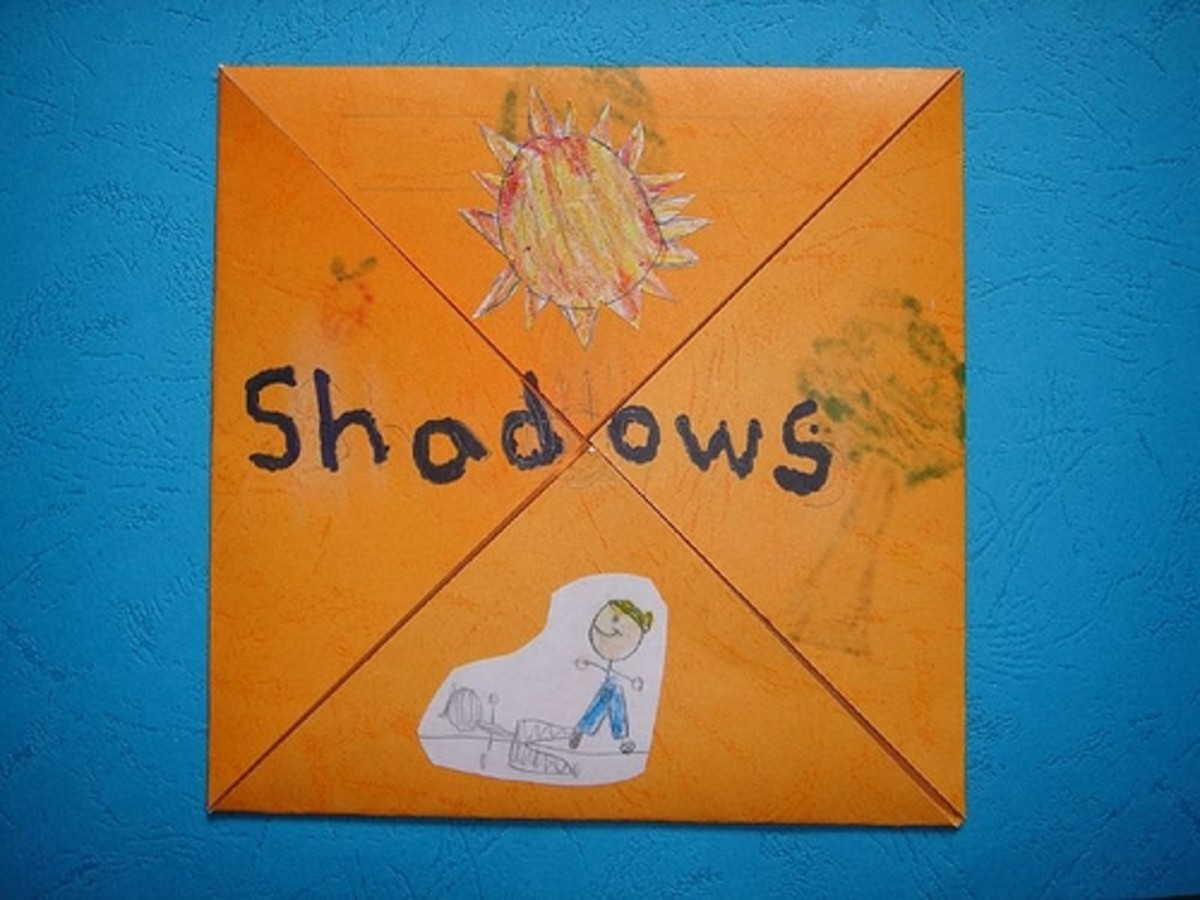 shadows four corner minibook
