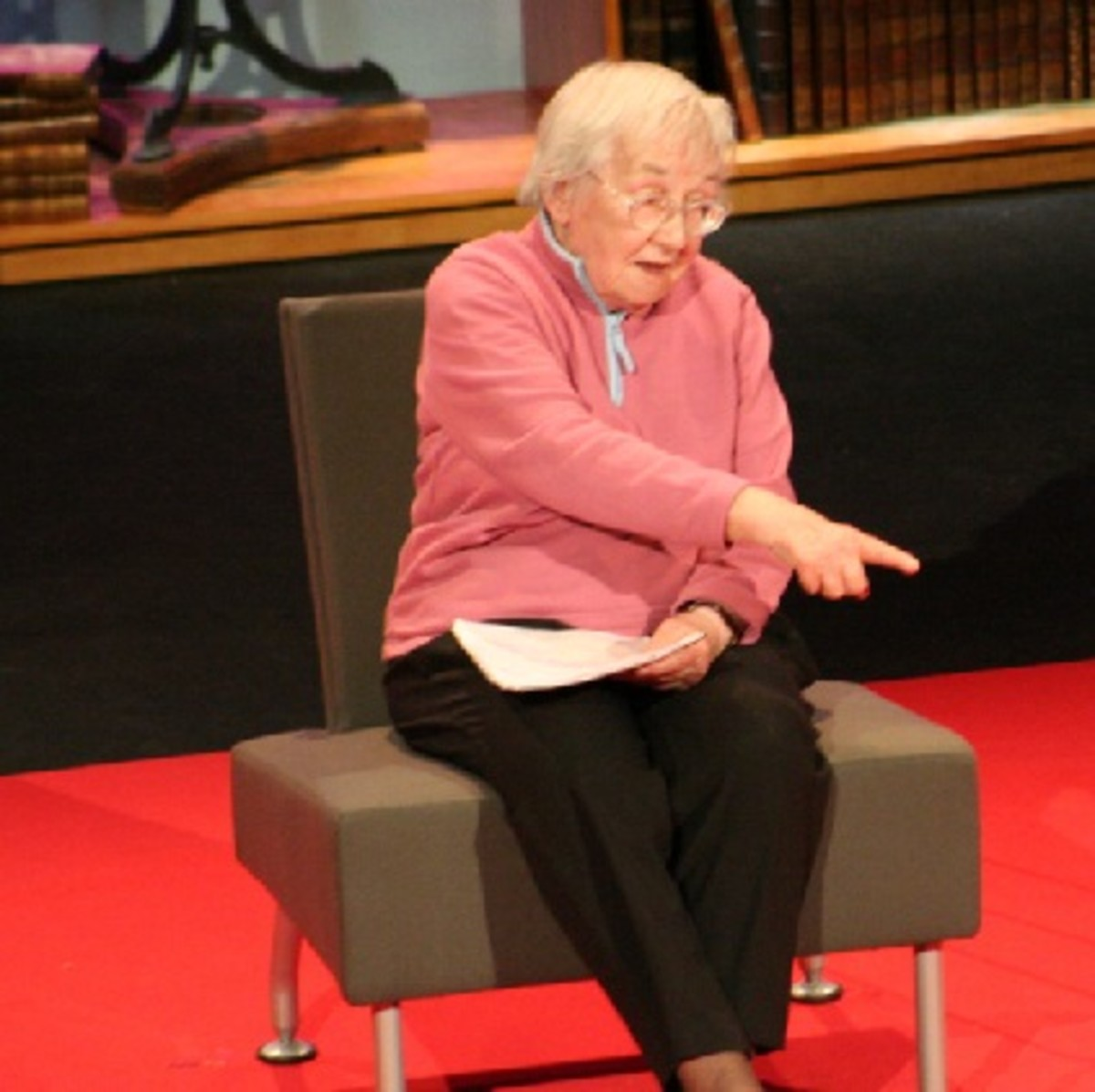 Elaine Morgan, TED lecture