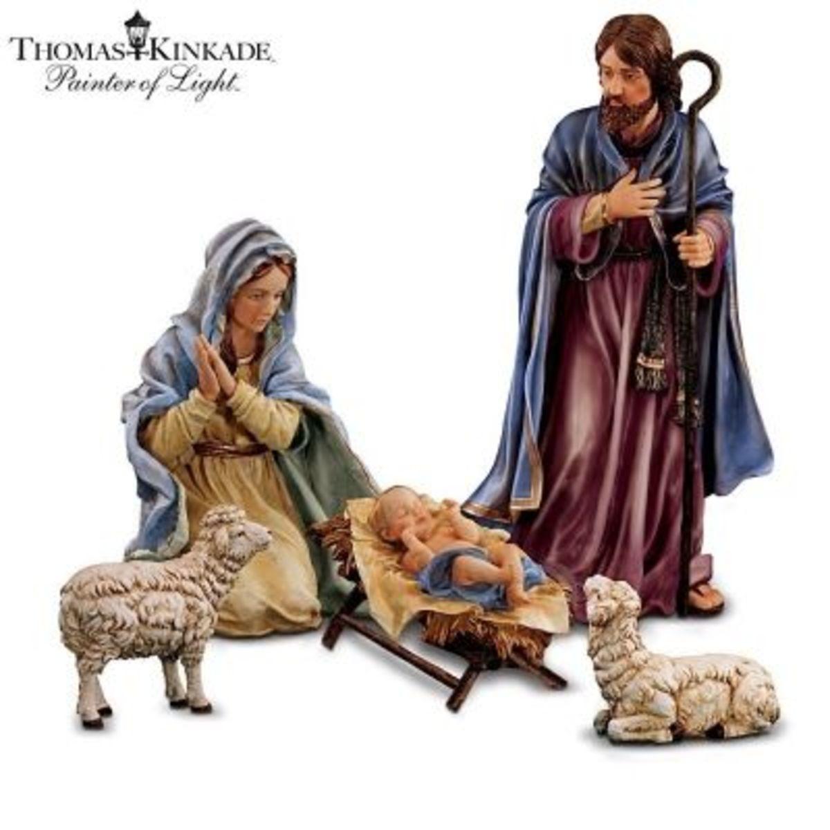 Thomas Kinkade Nativity