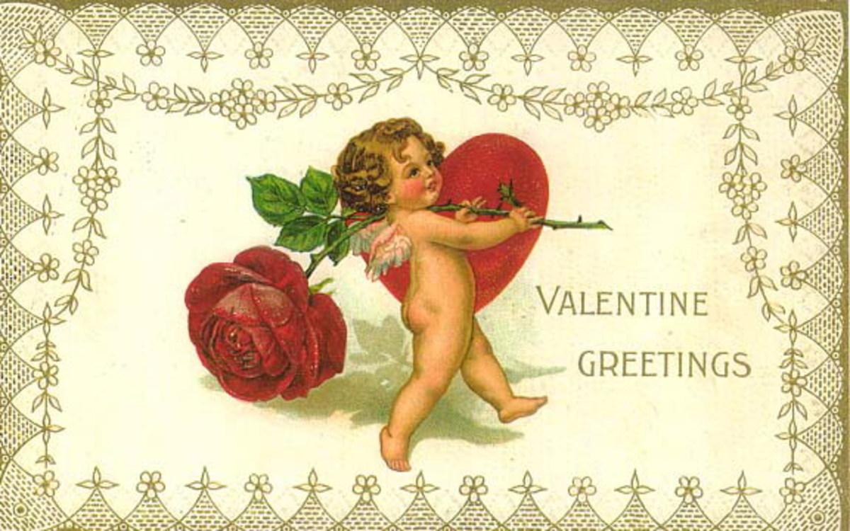Free vintage cherub clip art