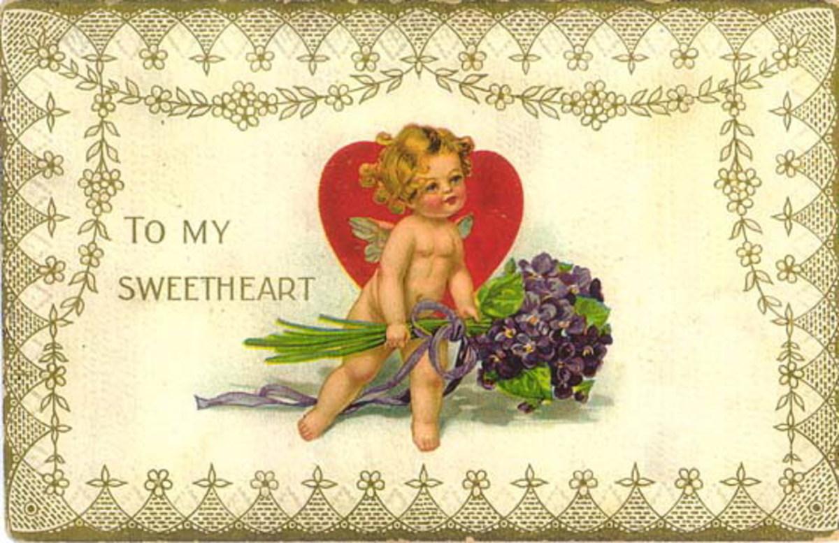 Free vintage cherub clipart