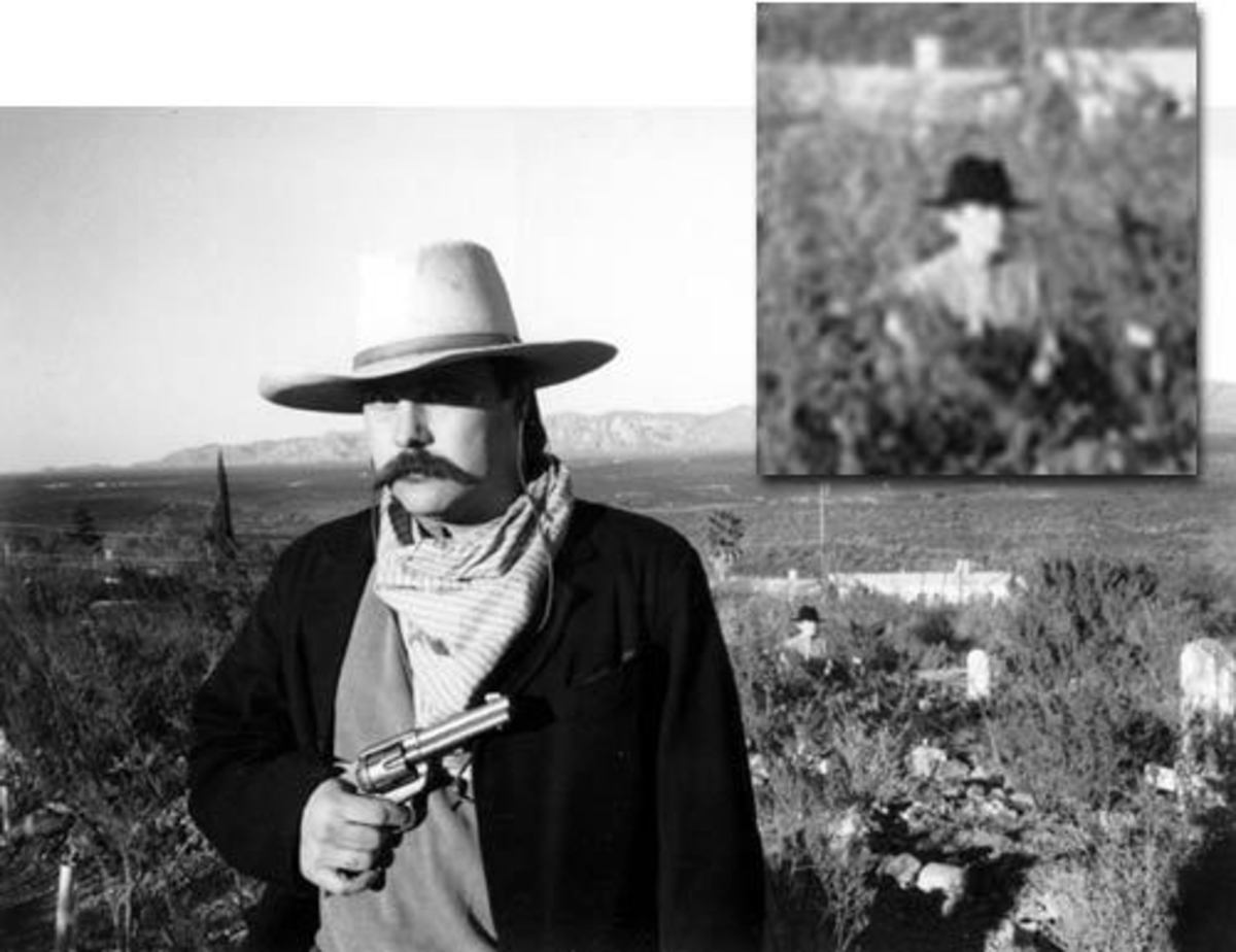 The Boothill Ghost Photo