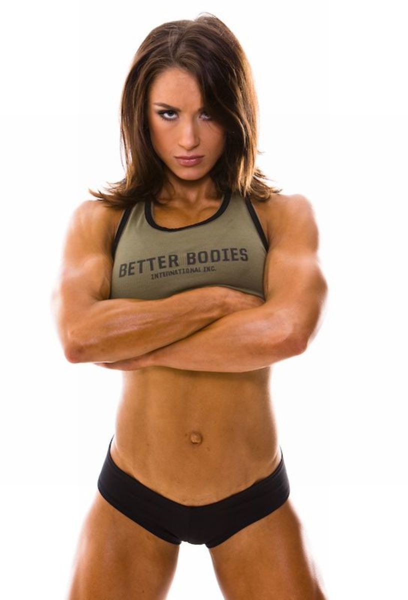 Female fitness model and female fitness trainer Pauline Nordin