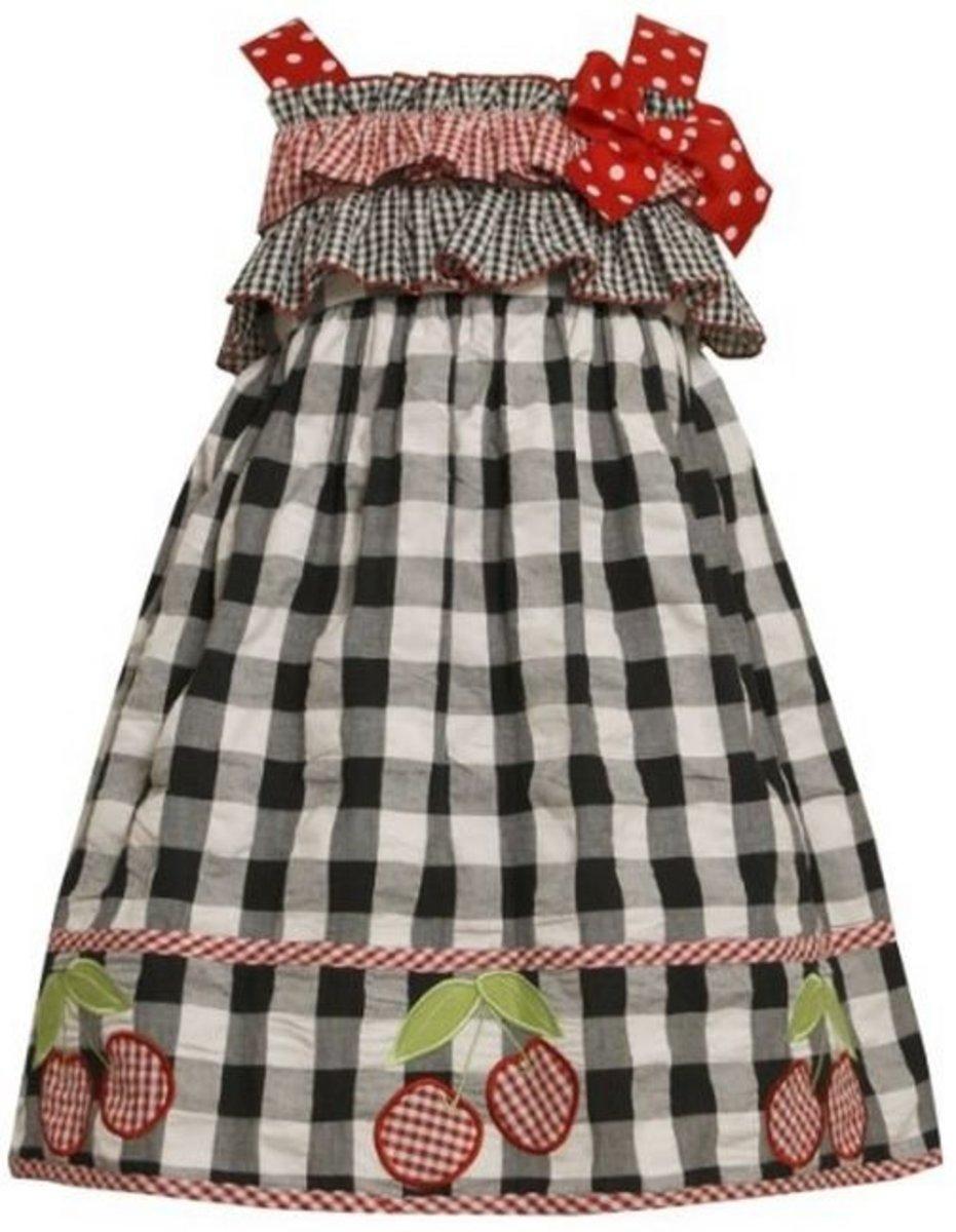 Bonnie Jean Cherry Dress