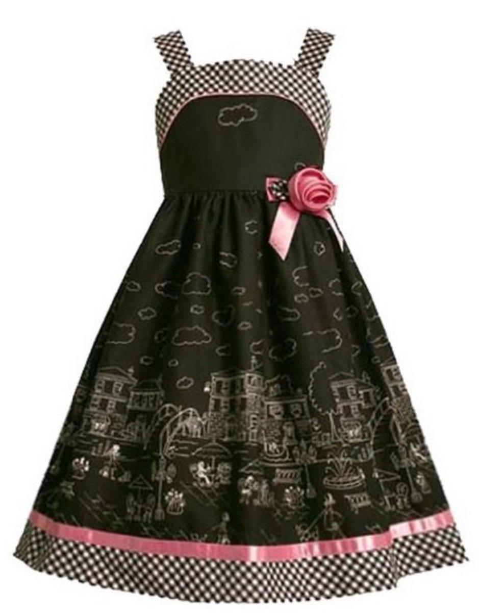 Paris Girls Dress