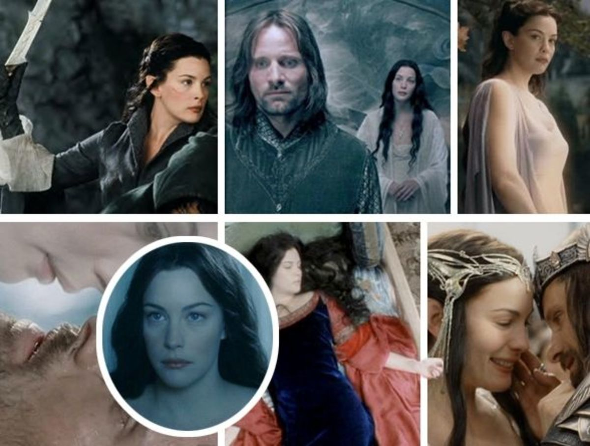 Arwen (Liv Tyler) in Lord of the Rings movies