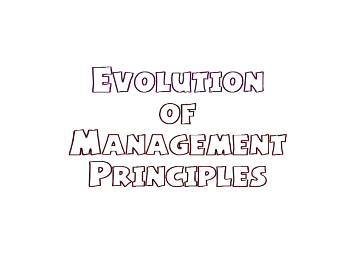 Evolution of Management Principles