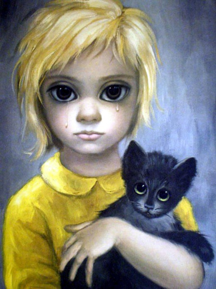 """The Stray"" by Margaret Keane 1962"