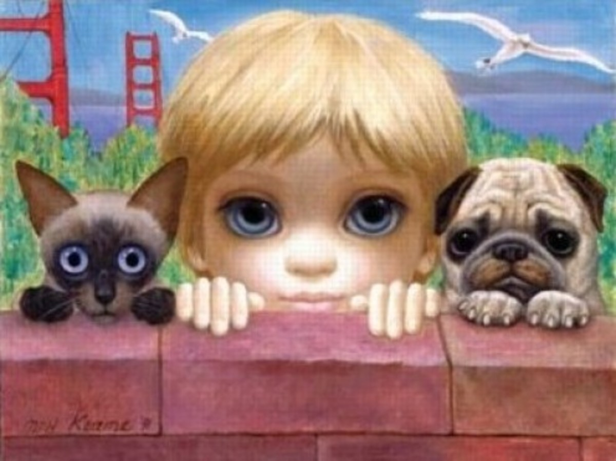 """San Francisco, Here We Come!"" by Margaret Keane"