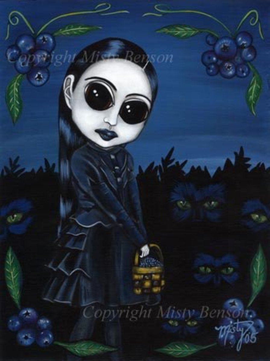"""Blueberry Gothic"" by Misty Benson"