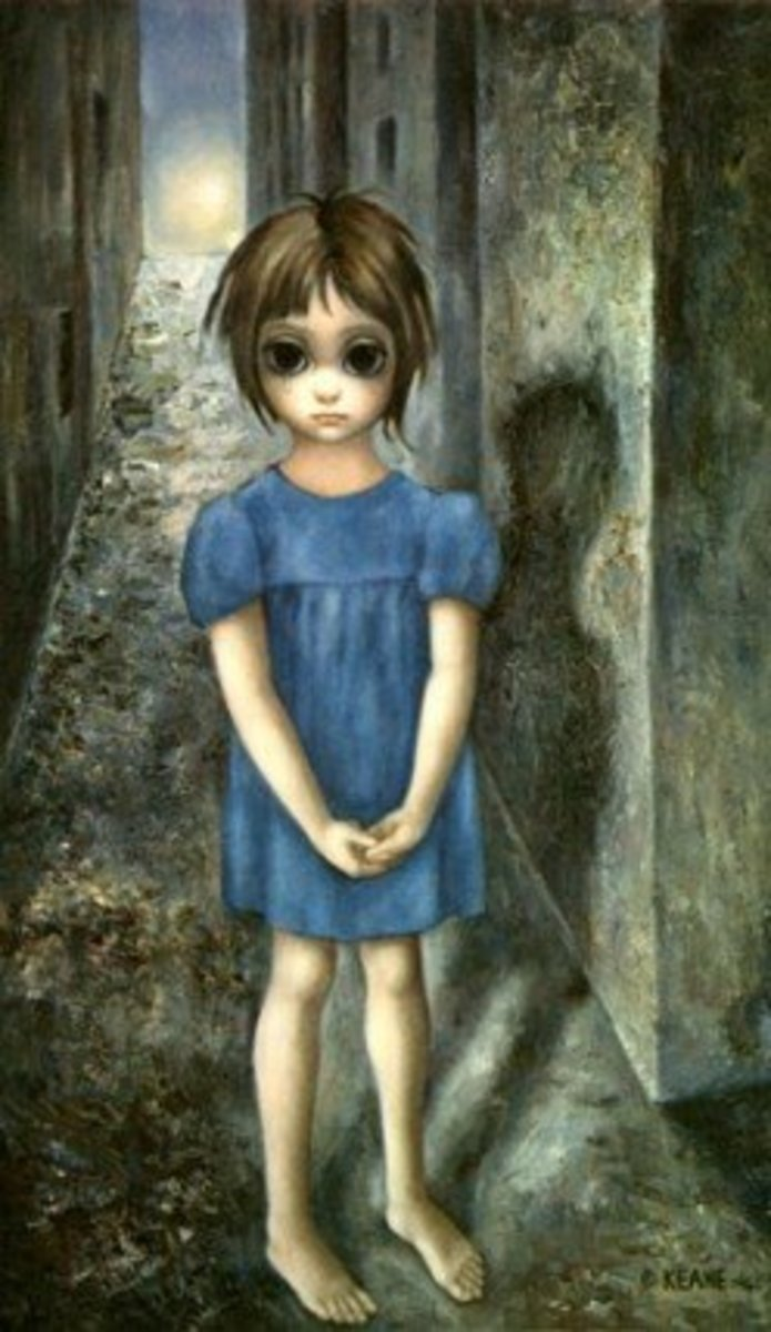 """The First Grail"" by Margaret Keane"