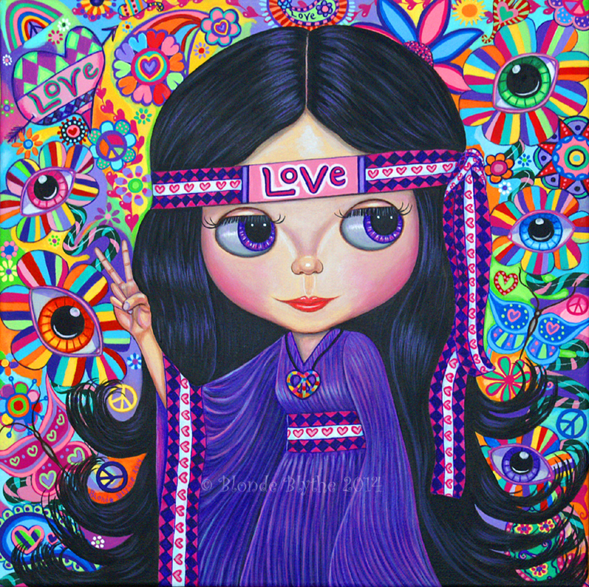 """Love Hippie"" by Blonde Blythe"