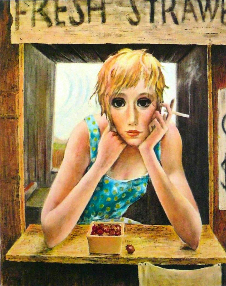 """The Farmer's Daughter"" by Margaret Keane"