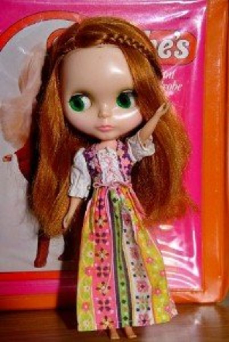 "Kenner Blythe in ""Pleasant Peasant""  Photo credit: Blonde Blythe"