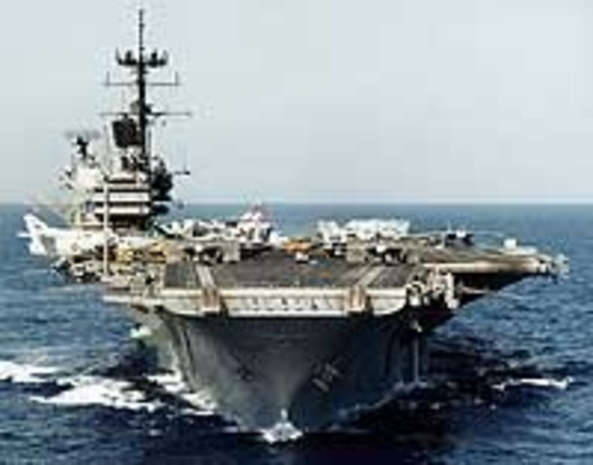 Tour An Aircraft Carrier
