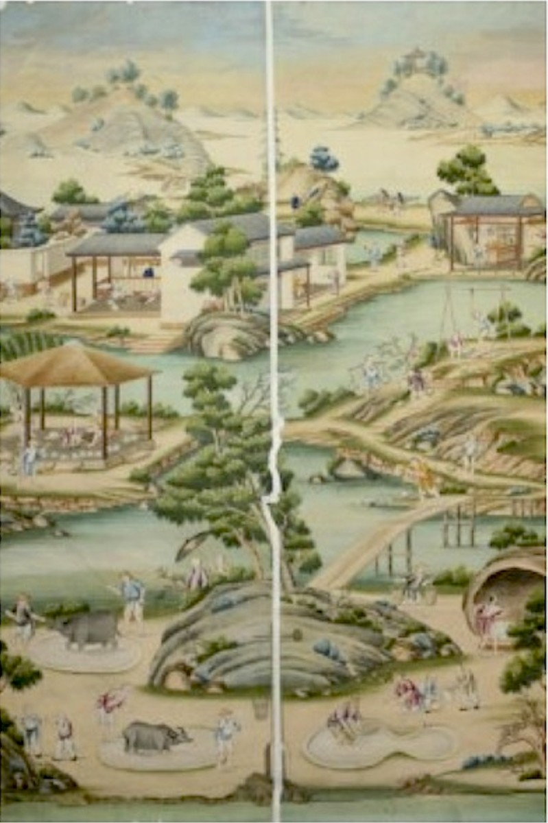 Chinese Wallpaper from the 1760s