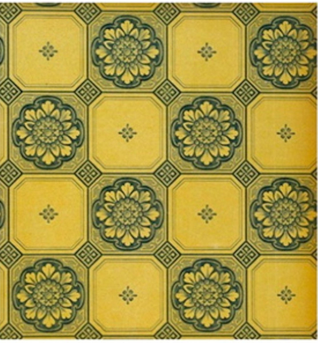 1923 Sanitary Wallpaper by Cole & Sons, England