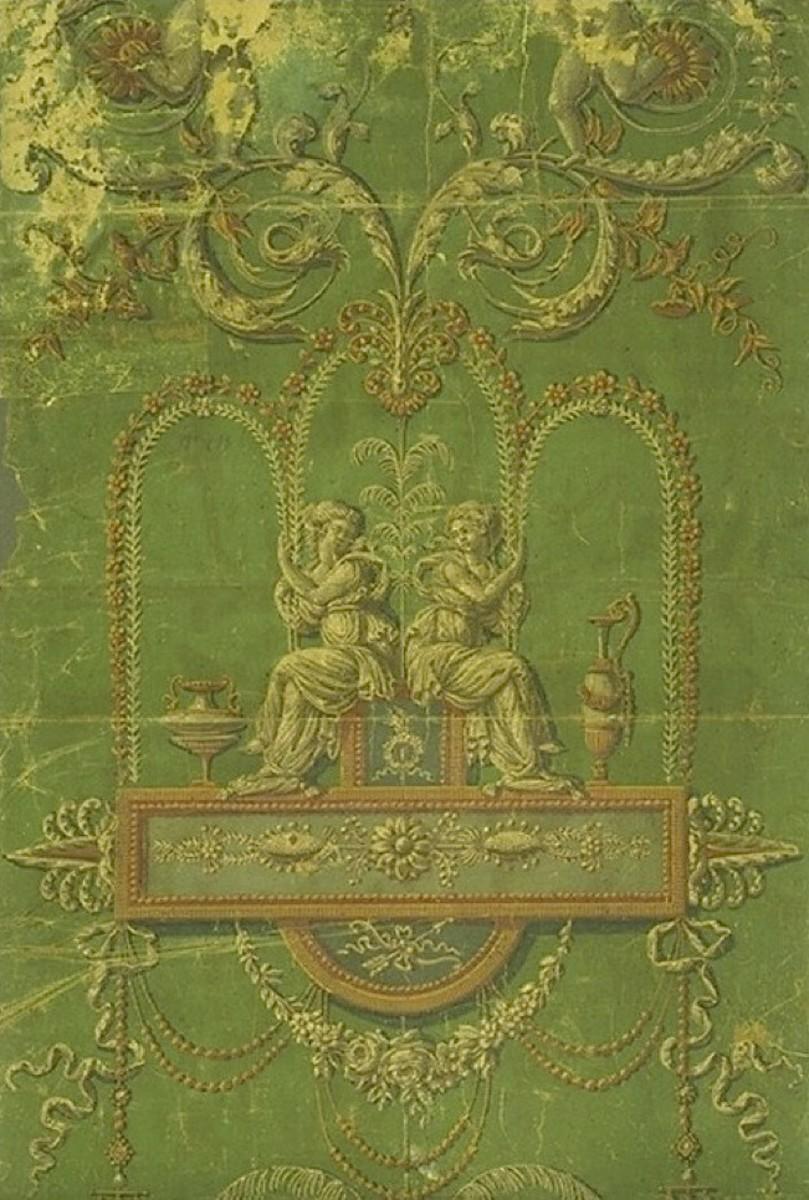 1780 Réveillon Style Wallpaper