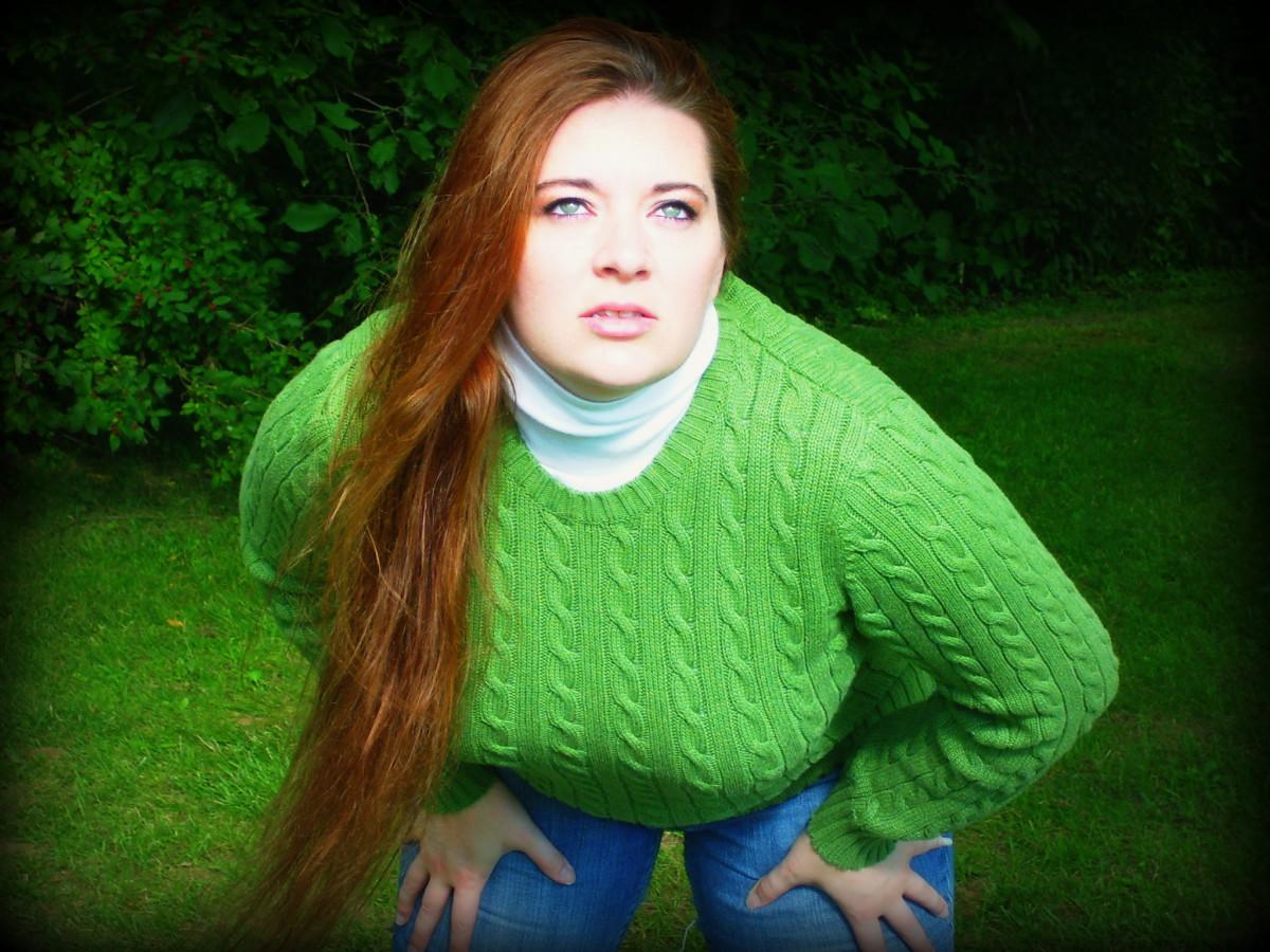 Sweater Queen goes green