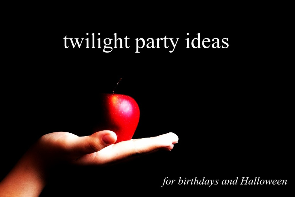 Twilight themed party ideas