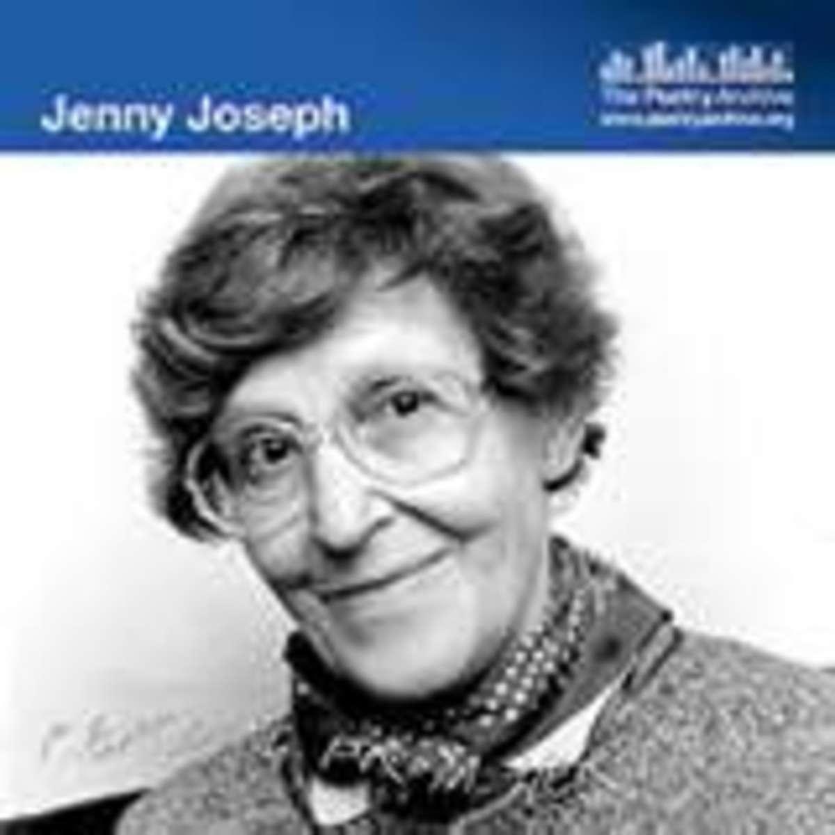 'I Shall Wear Purple', with pleasant regards to Jenny Joseph