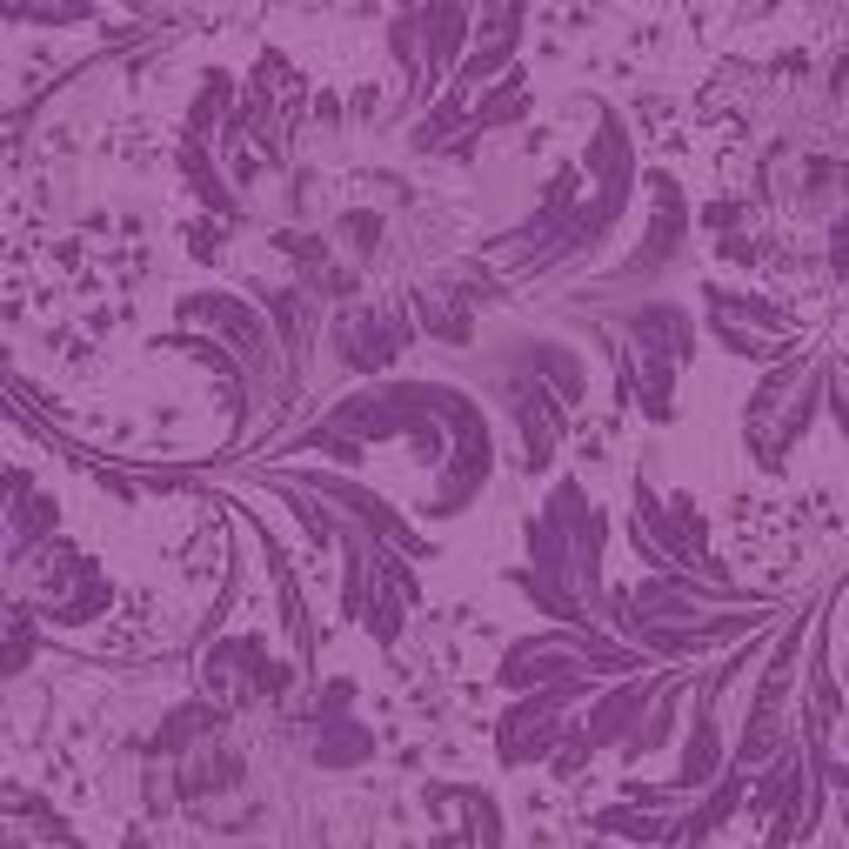 Feminine floral pattern.