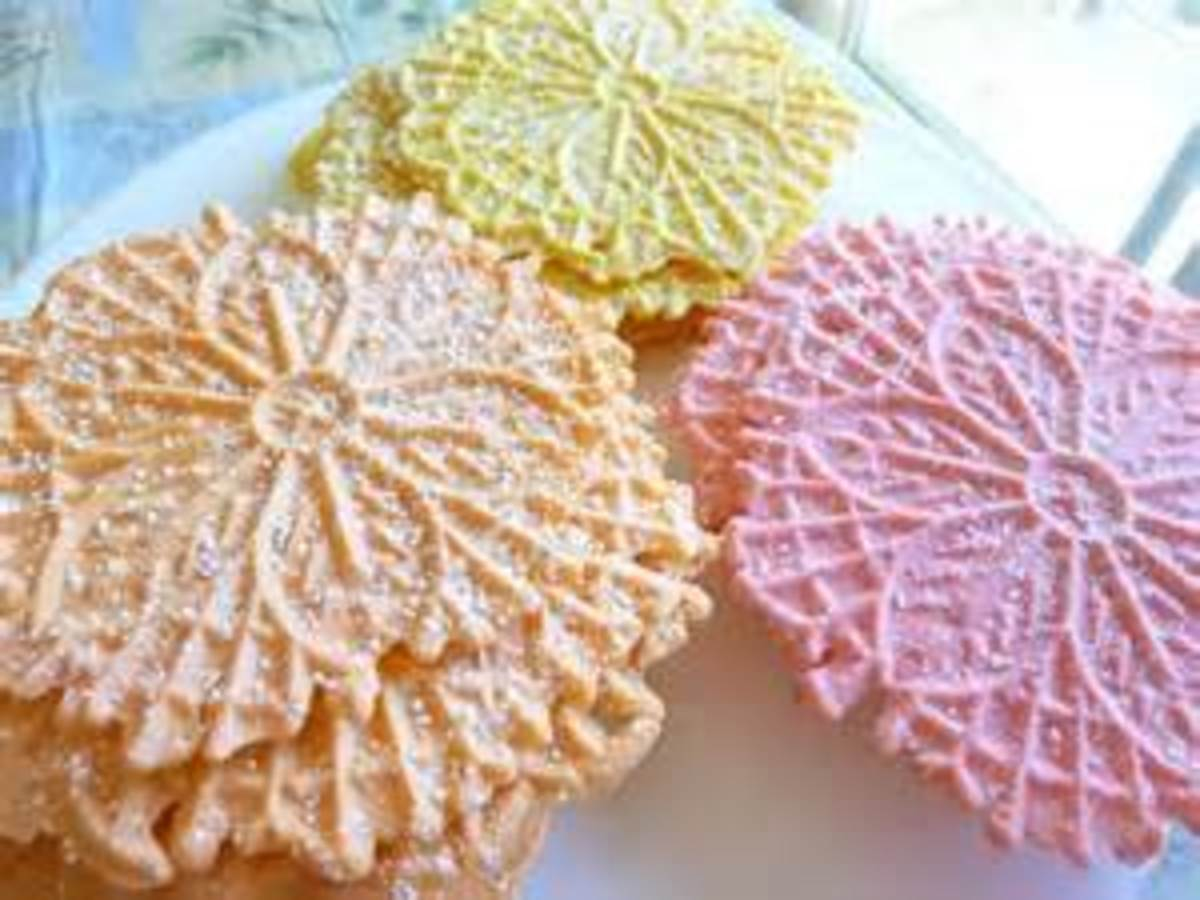Bear N Mom Recipes - Cookies - Pizzelles