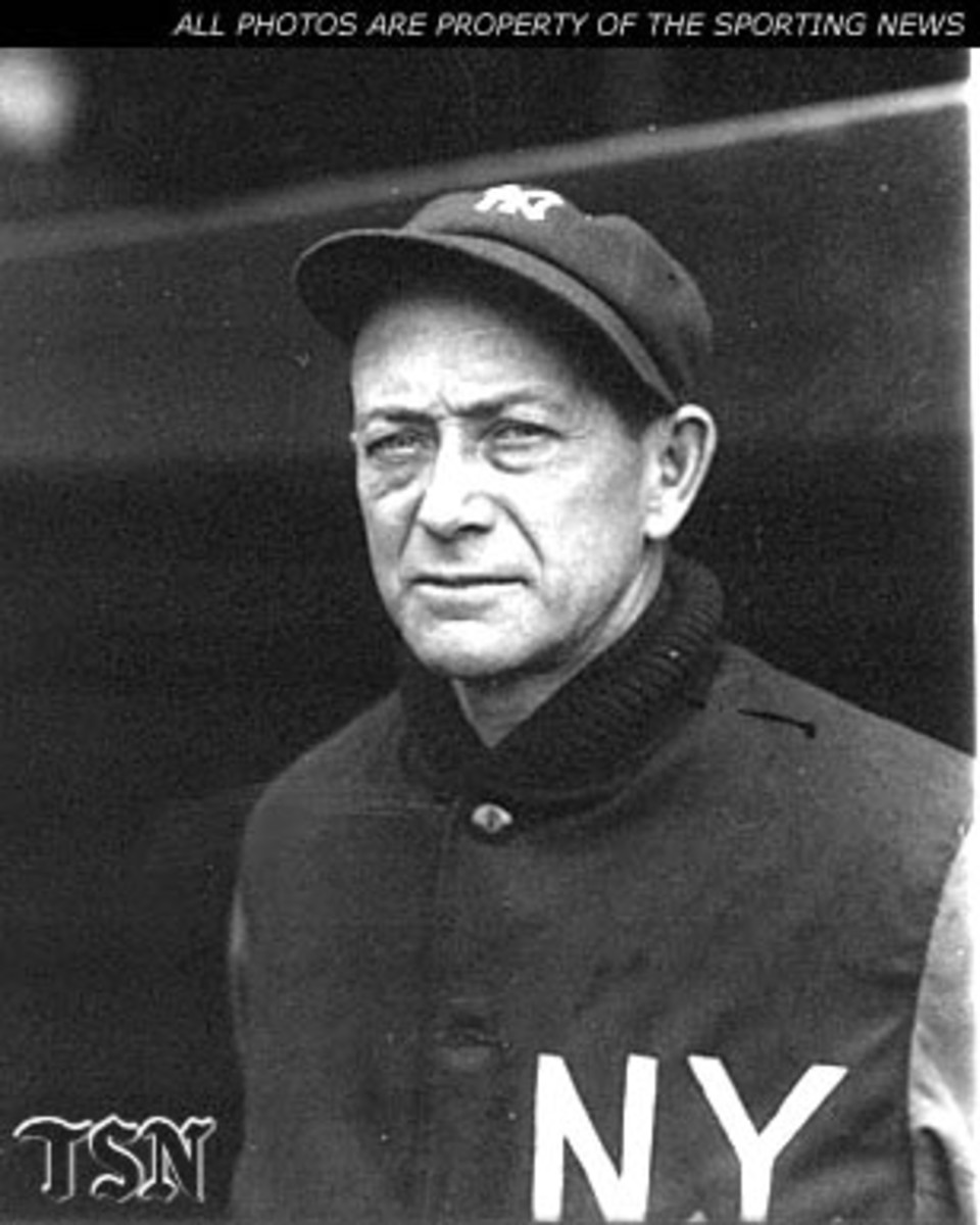 MILLER HUGGINS MANAGED 1928 NEW YORK YANKEES TO WORLD SERIES WIN