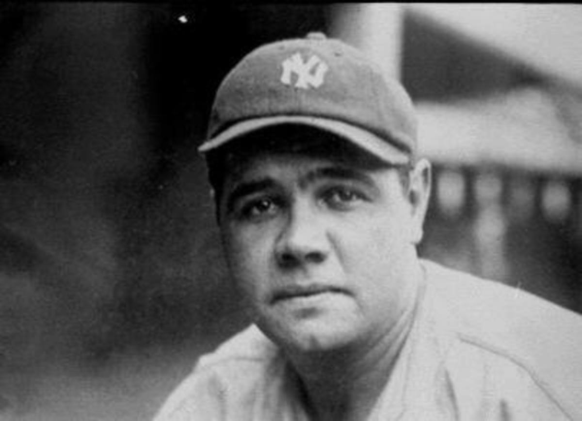 BABE RUTH LED THE 1927 NEW YORK YANKEES TO WORLD CHAMPIONSHIP