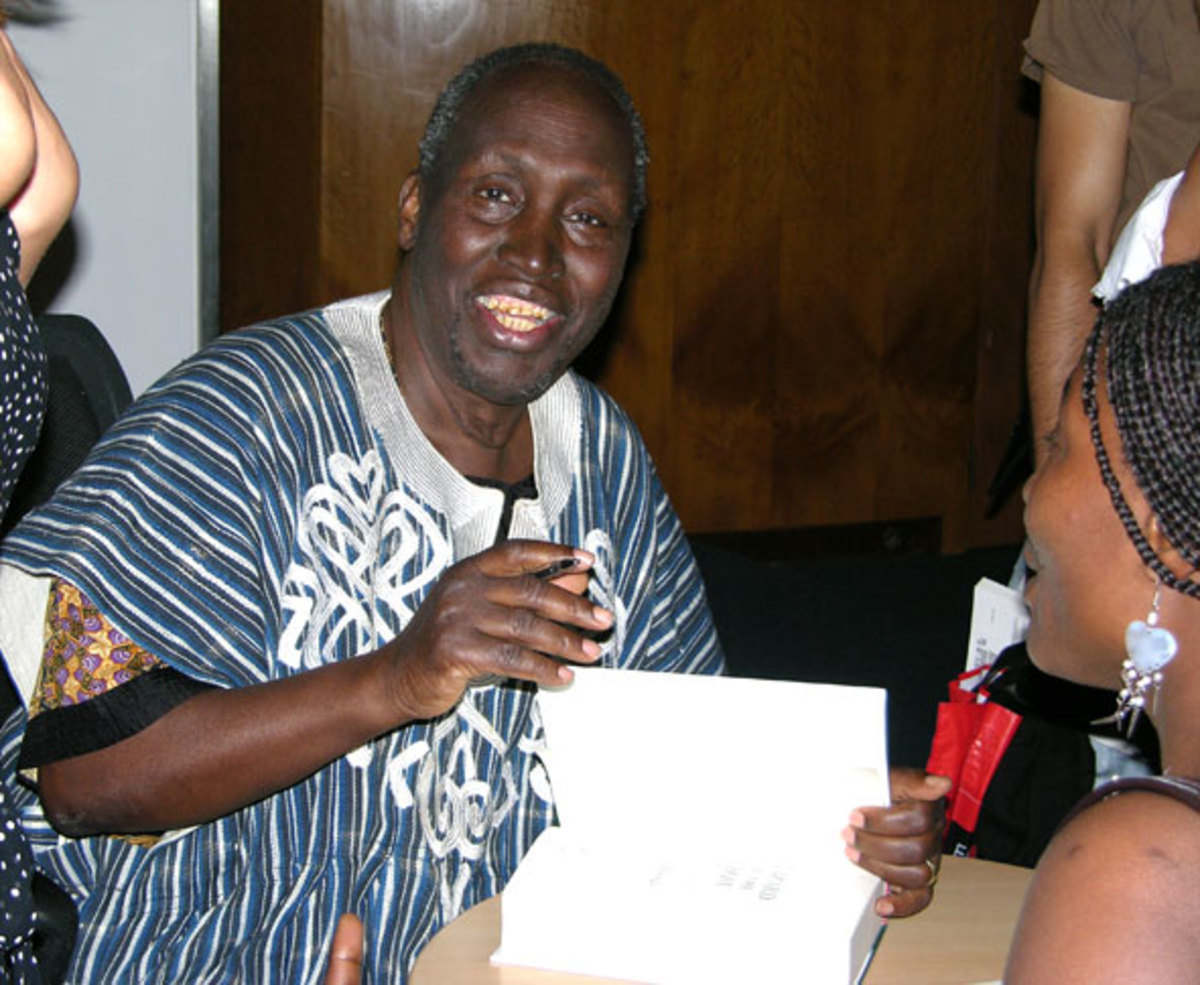author Ngugi Wa Thiong'o