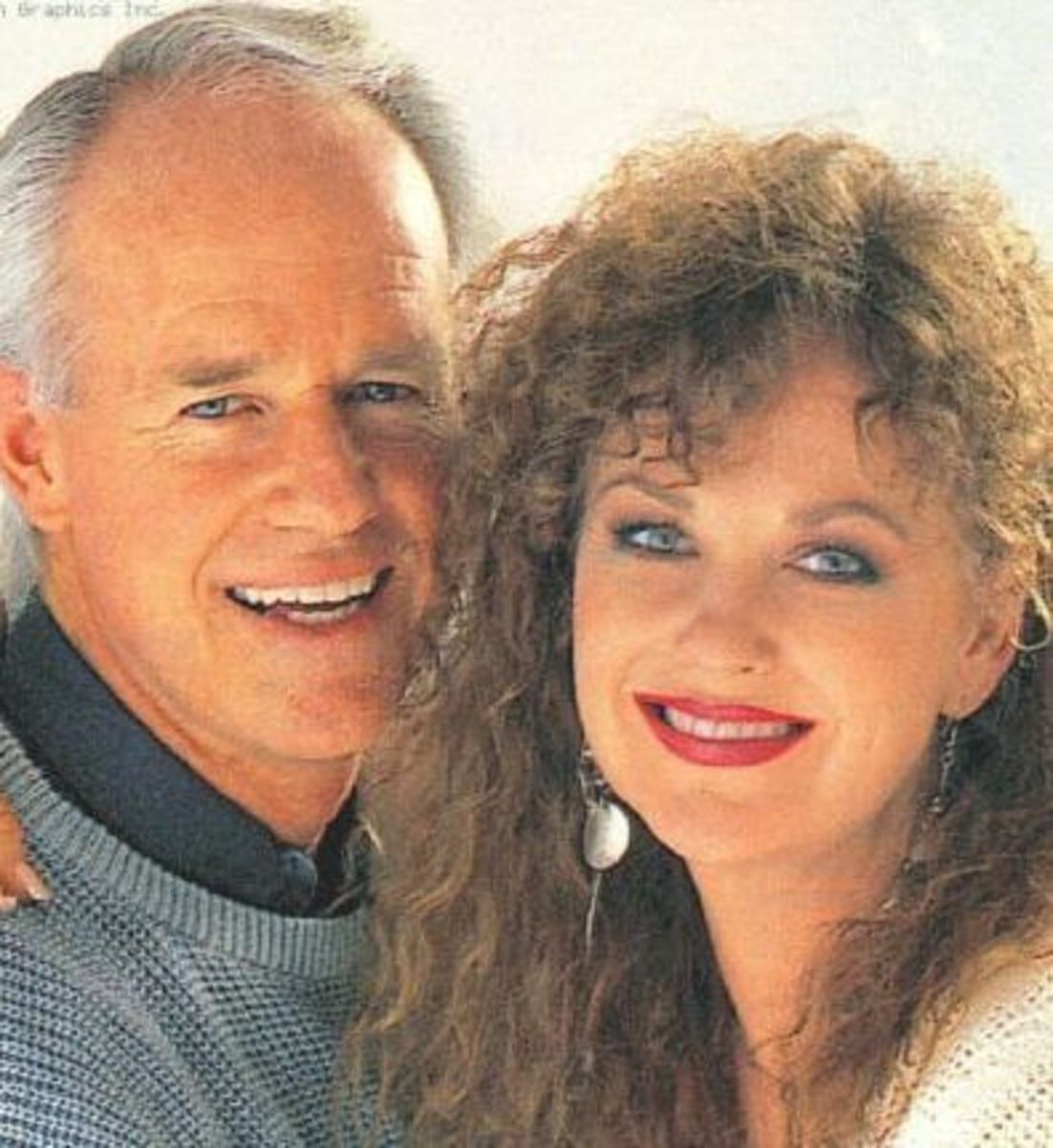 Mike Farrell and Shelley Fabares Married 12/31/84
