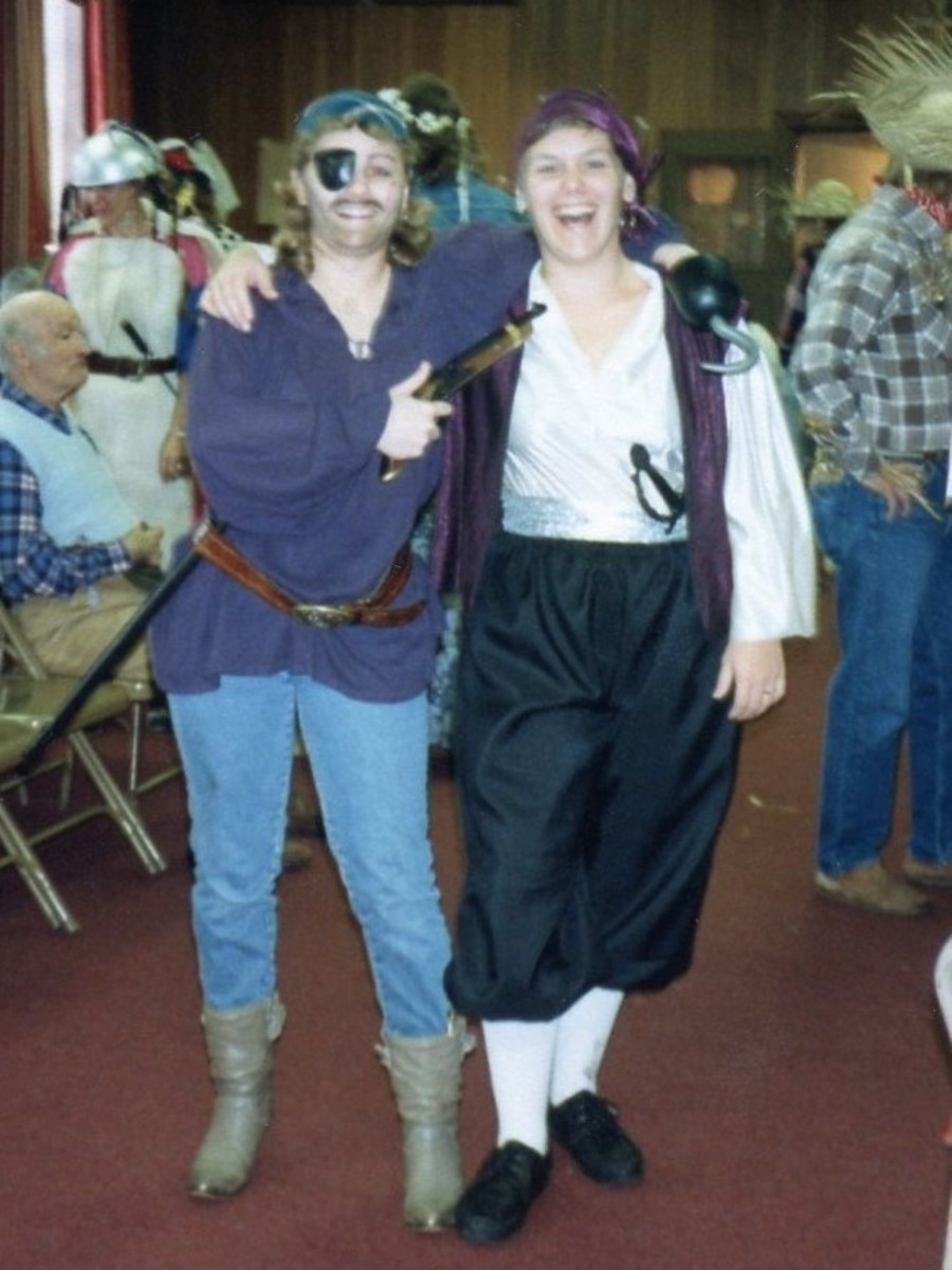 Pirates.  Arrrh!