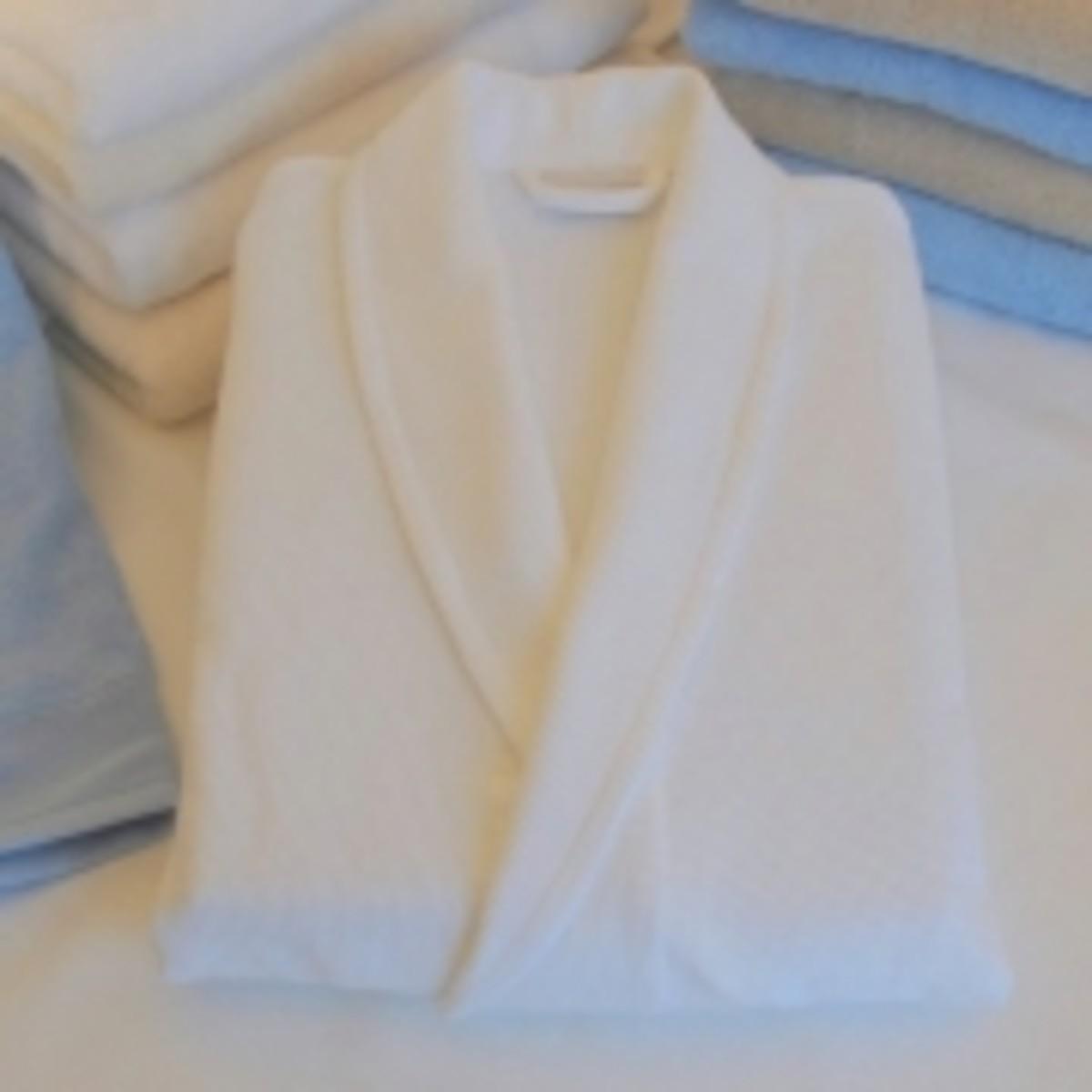 The Fine Cotton Company - Verona Organic Towelling Robe