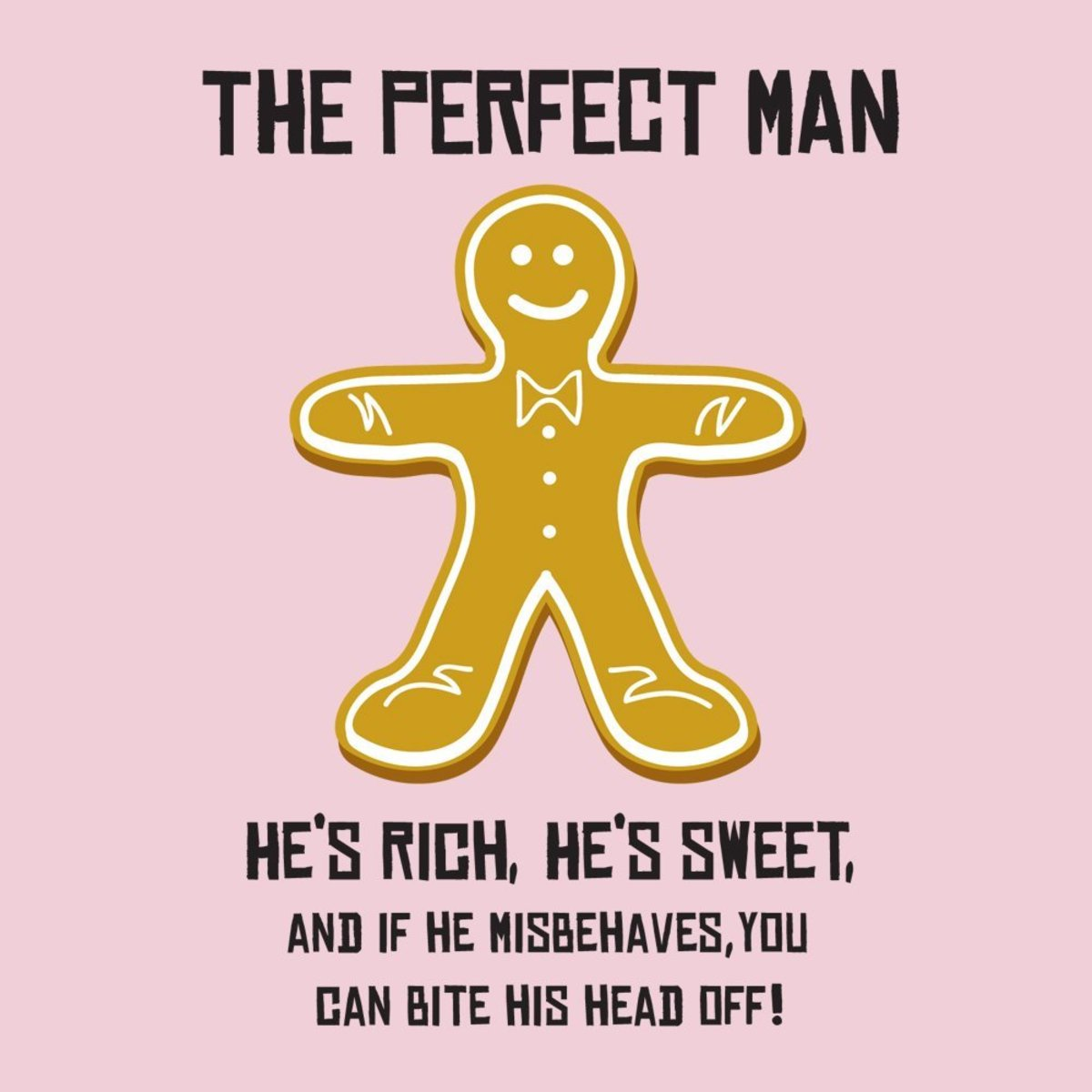 The Perfect Man Gingerbread Apron