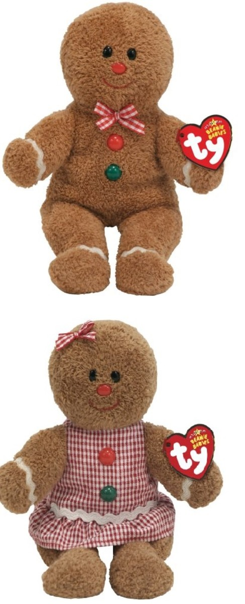 Hansel and Gretel Gingerbread Baby Plush Toys