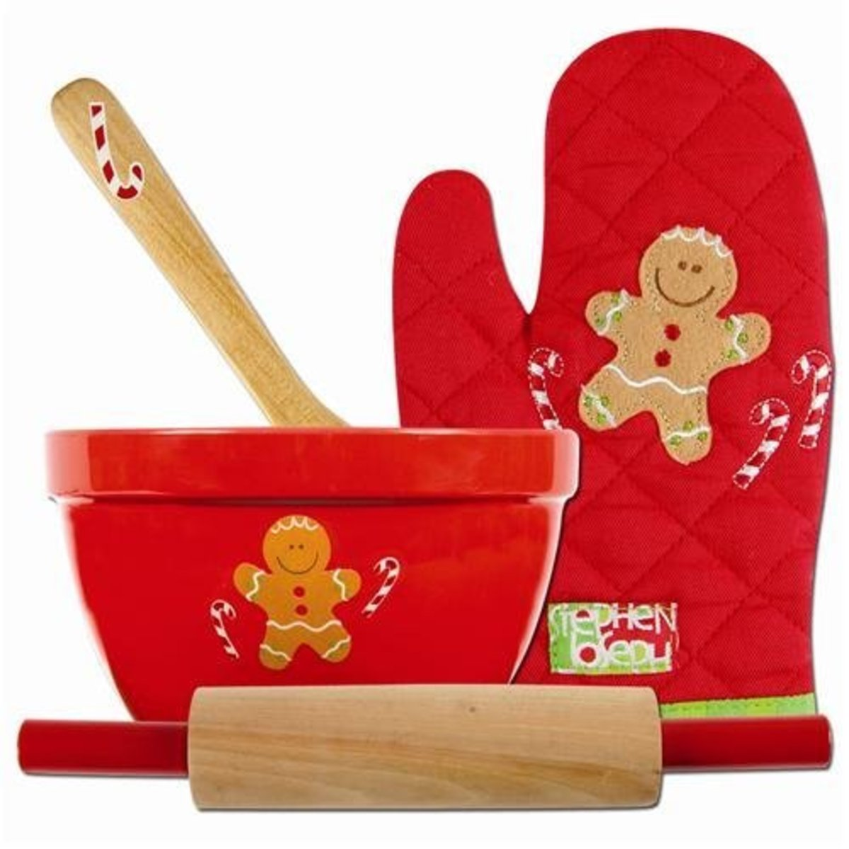 Gingerbread Apron Set
