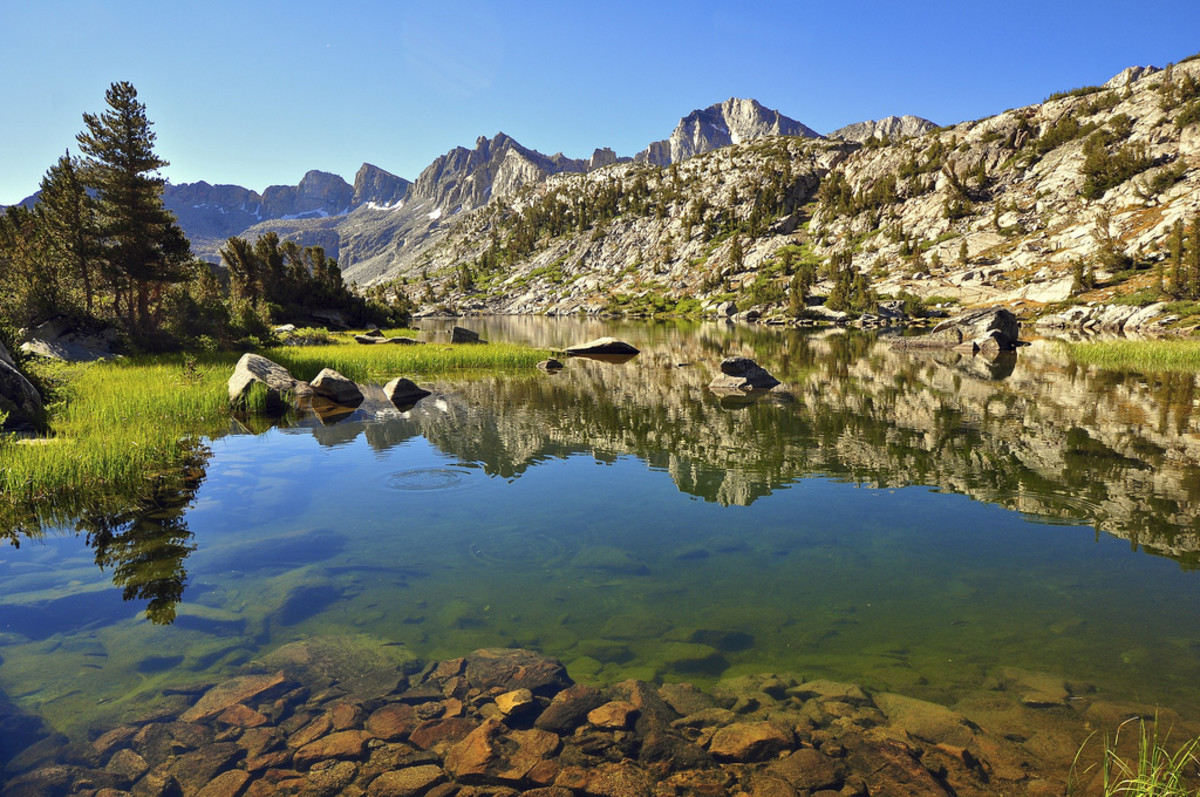 Dusy Basin, Kings Canyon, California