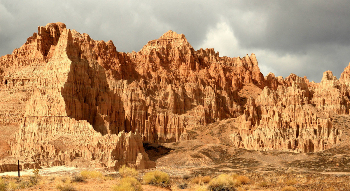 Cathedral Gorge State Park, Nevada
