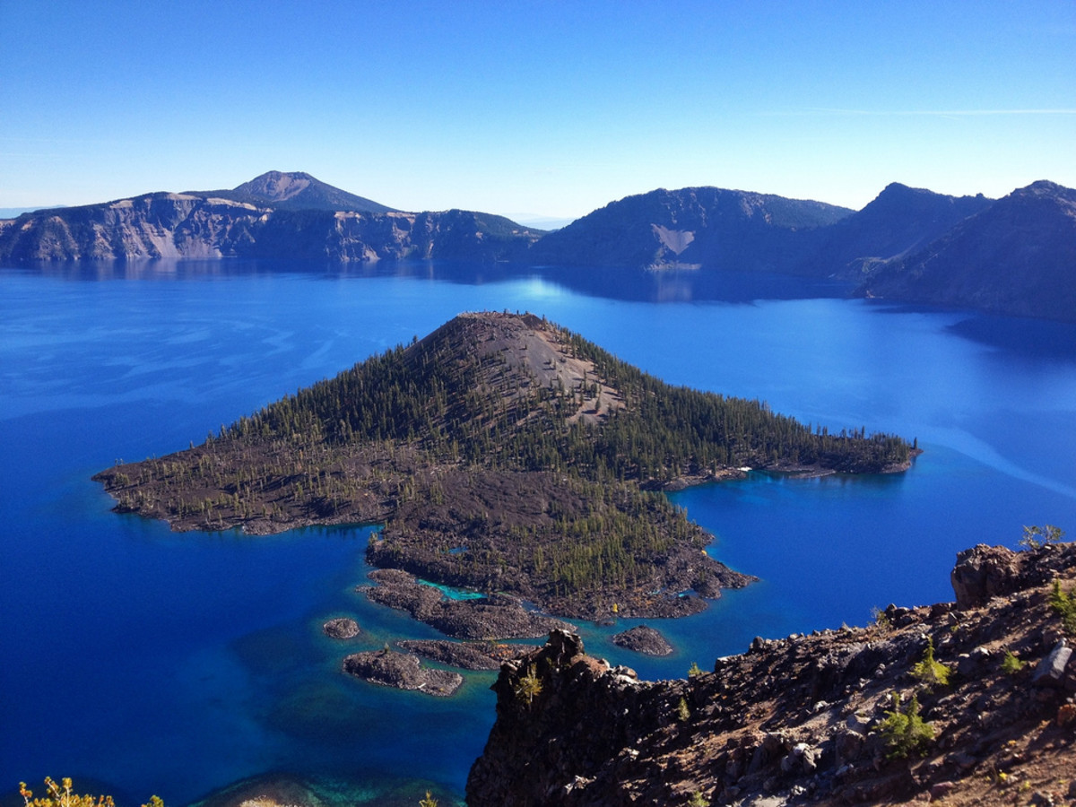 Wizard Island, Crater Lake National Park, Oregon