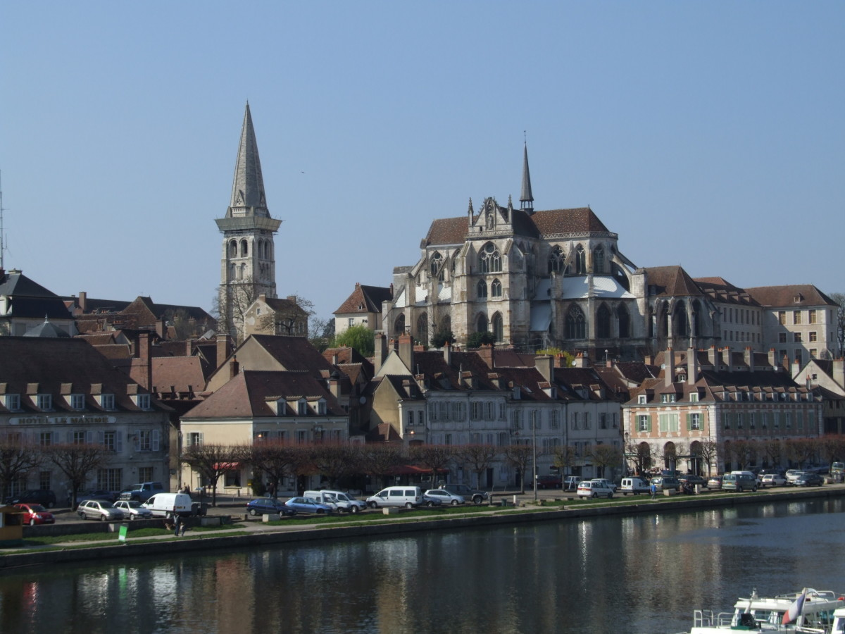 ABBEY AT AUXERRE